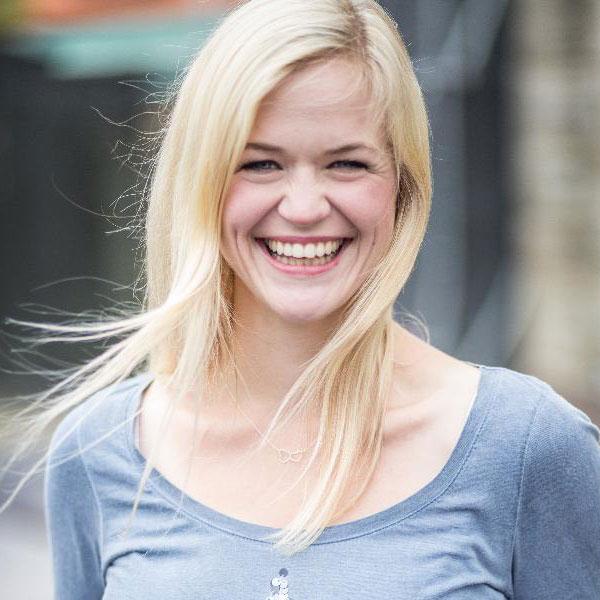 Johanna Olbrich ist Schauspielerin beim Kindertheater Zauberflöckchen