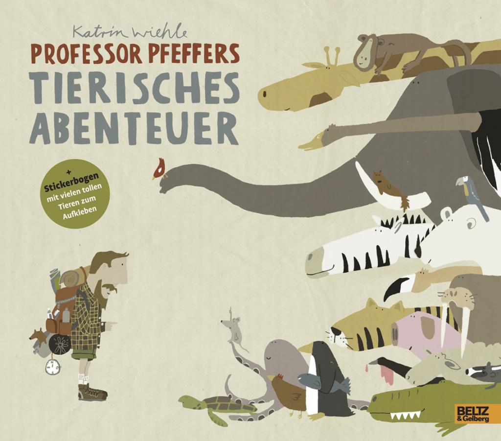 Buchcover Professor Pfeffer
