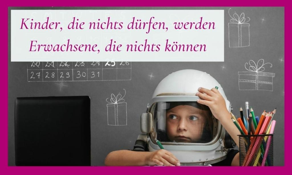 Die Erziehung der Kinder: wann dürfen sie etwas