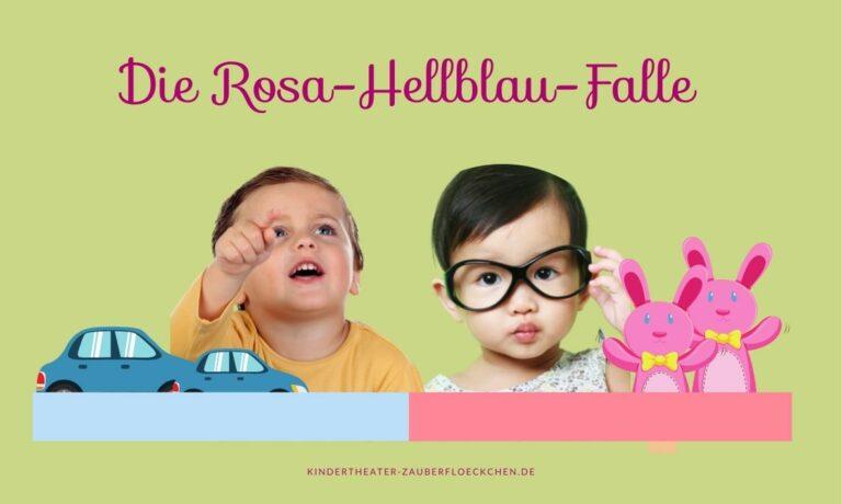 Die Rosa-Hellblau-Falle (aus Sicht eines Vaters)