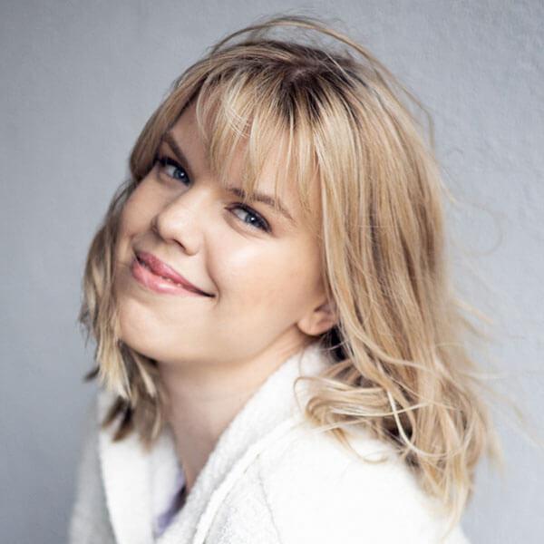Nadine Stiebel ist Schauspielerin beim Kindertheater Zauberflöckchen